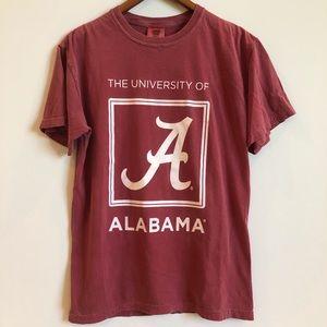 Comfort Colors Tops - University of Alabama Tee Shirt- comfort colors